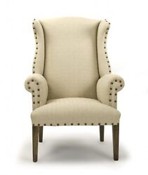 Zentique 10 Wingback New Exclusive Chair 10 Wingback Chair