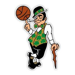 Boston Celtics Decal Sticker Die cut