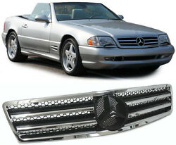 REPLACEMENT CL STYLE BONNET GRILL FOR MERCEDES SL R129 NICE GIFT