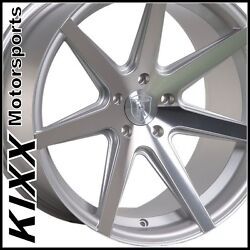 19 Rohana Rc7 19x8.5/9.5 Silver Concave Wheels For Bmw F32 428i 435i Coupe