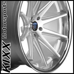 20 Rohana Rc10 20x9/10 Silver Concave Wheels For Lexus Is250 Is350