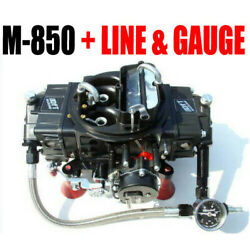 Quick Fuel M-850 Mech Gas Electric Choke Marine With J-tubes And Line Kit Look