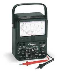 Simpson Electric 260-8 Analog Multimeter 1000v,10a,20m Ohms - Special