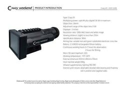 Crazy Weekend Day/night Vision Smart Hd Rifle Scope With Screen