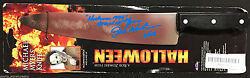 James Winburn Signed Michael Myers Halloween Prop Knife Rob Zombie P
