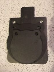Ar500 Steel Target Gong 3pc Set 6 8 And 8x12 Idpa Silhouette Usa Made