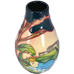 Genuine Moorcroft Royal Arrival Vase 117/5 Numbered Edition Free Delivery