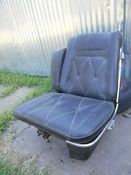1969 Lincoln Mark Iii Front Driverand039s Seat Nice Original Black Leather
