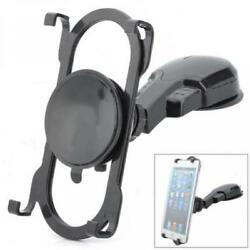 Rotating Car Mount Dashboard Tablet And Phone Holder Dash Stand Dock Cradle