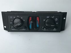 2000-03 Chevy Impala Monte Carlo Heater AC Climate Control Part  09384451 -
