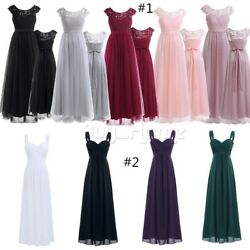 WomenS Maxi Formal Long Prom Party Dress Cocktail Bridesmaid Wedding Evening $23.13