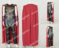 Avengers Age Of Ultron Thor Odinson Cosplay Costume Uniform Male Outfit Amazing
