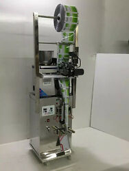 Three-side Automatic Teabag Packaging Machine Grainy Seed Powder