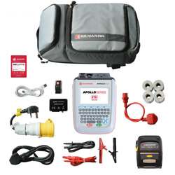 Brand New Seaward Apollo 600+ Battery Operated Pat Tester With Elite Bundle Kit