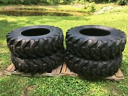 4 New 15.5-25 Galaxy Mpc Loader L2/g2 Tires - 15.5x25 - 12 Ply - 154 Pound Tire