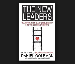 The New Leaders Daniel Goleman FREE SHIPPING paperback book Leadership science