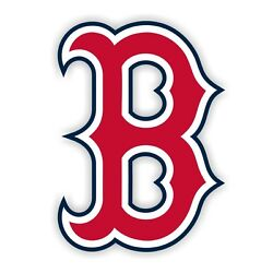 Boston Red Sox quot;Bquot; Decal Sticker Die cut