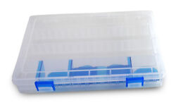 20 Compartments Fishing Fish Hook Bait Lure Box Tackle Storage Container Case