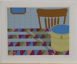 Early Times Serigraph By Alyssia Lazin