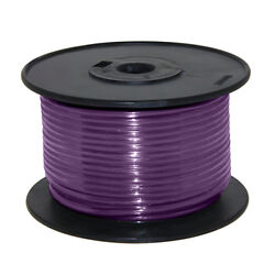 Wire 16 Awg Violet 100ft Roll Ul Fine Strand Tinned Copper