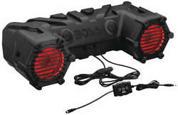 New Boss Audio Waterproof 6.5 Sound System With Leds - Arctic Cat 700 4x4 Atv