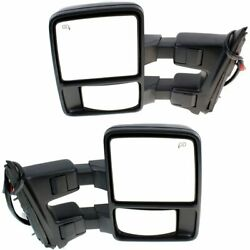 New Mirrors Set of 2 Driver & Passenger Side F450 Truck F550 F250 Heated Pair