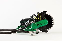16 Cement Concrete Quick Cutoff Hand Held Saw Exhaust Free No Emmissions