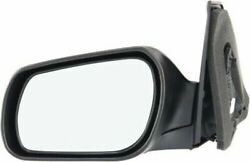 New Ma1321130 Left/driver Side Manual Folding Mirror For Mazda 3 2004-2009