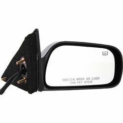 New To1321130 Passenger Side Mirror For Toyota Camry 1997-2001
