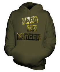 Hard To Forget Unisex Fashion Slogan Hoodie Top Swag Hipster Mens Ladies