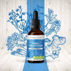 Secrets Of The Tribe Tribal Cough-ease Tincture Alcohol-free Extract