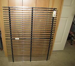 Semi Truck Front Grill 41 Wide X 33 Tall - Nickle Plated Sh