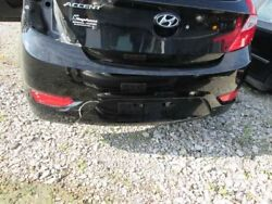 12 13 14 Hyundai Accent Rear Bumper Hatchback Been Bumped L Of Plate Area 203241
