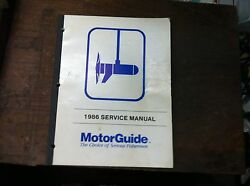 Good Motor Guide Trolling Motor Service Manual And Parts Books Different Models