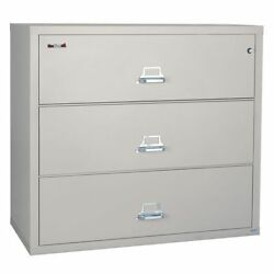 FIREKING 3-4422-CPA Lateral File Cabinet, Height 40-1/4