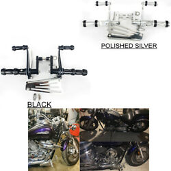 Forward Controls Footrest Pegs 4 Yamaha V Star Classic Custom Silverado All Year