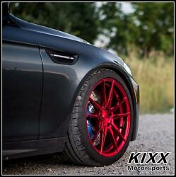 20 Rohana Rf2 20x9 20x10 Red Concave Wheels For Bmw F32 428i 435i Coupe
