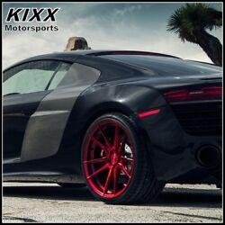 20 Rohana Rf2 20x9 20x10 Red Forged Concave Wheels For Ford Mustang Gt Gt500
