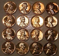1957 1958 1959 1960 Proof Lincoln Wheat And Memorial Pennies Choice Pennyandrsquos Read