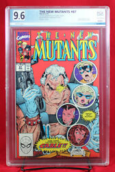 New Mutants 87 1990 Marvel Pgx 9.6 Nm+ Near Mint Plus - First Cable +cgc
