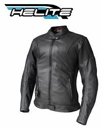 Leather Jacket Helite Xena Woman Airbag Inflatable Motorbike Air Bag Protection
