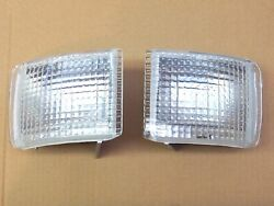 Ford Escort Mk5 92-95 Cosworth Sierra Cosworth And Xr4i Clear Front Indicators Set