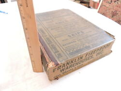 Scarce 1933-4 Polks Brooklyn City Directory New York Nyc 2030 Pages Ads 11 Lbs