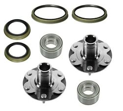 2 Front Wheel Hubs Bearings 4runner Sequoia Tundra Tacoma 4wd With Seals