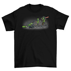 Pickle Rick Evolution T-Shirt Funny TV unisex New