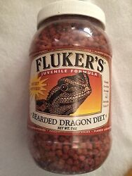Flukers Bearded Dragon Diet Juvenile Formula 7 Oz Multiple Available Food