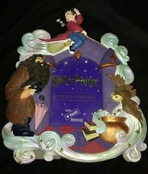 Harry Potter Hagrid Rare Collectible Photo Frame Wb 2000 Owl Hogwarts Quiddtich