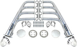 New Lake Style Ceramic Coated Headers With Turnouts,sbf 260-351w V-8,gt40p,ford