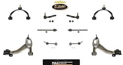 Crown Vic Town Grand Marquis 10 Pc Chassis Kit Control Arm Ball Joints Tie Rods