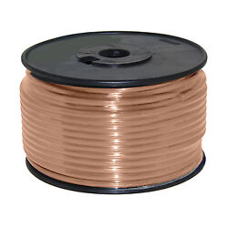 Wire 12 Awg Tan 100ft Roll Ul Fine Strand Tinned Copper